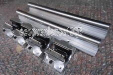 2XTBR20-1500mm 20MM FULLY SUPPORTED LINEAR RAIL SHAFT+ 4 TBR20UU Rounter Bearing