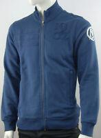 Real Madrid Adidas Herren Trainingsjacke Sweatshirt Top Sweatjacke Hoodie Blau