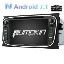 Für Ford Focus S-max Galaxy DVD Autoradio Android 7.1 GPS USB Wifi DAB+ 2GB 32GB