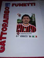 Figurine Calciatori N.302 Gattuso Squadra Milan Magazzino- Anno 2011-2012 Panini