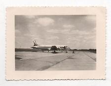 PHOTO - Snapshot - Avion F BEL J - Aviation Aéroport Nantes Vers 1950 Vintage