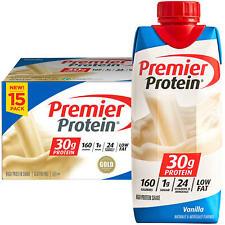 Premier Protein High Protein Shake, Vanilla (11 fl. oz., 15 pk.)