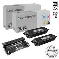 3PK TN650 & DR620 for Brother Toner Cartridge & Drum DCP-8050D HL-5340D MFC-8370