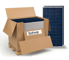 WccSolar Placa Solar 250W Panel Solar 24V Fotovoltaico Policristalino - Azul