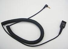 ADDQD-06 QD-to-2.5mm Cable for AddCom to Cisco 303 502 922 941 & Polycom 320 330