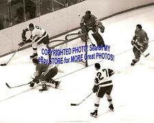 Jacques PLANTE BLUES Is in BIG TROUBLE Howe MAHOVLICH Arbour HARVEY Custom 8X10
