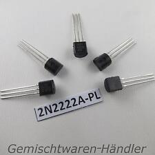 5X Transistor 2n2222a-331 bipolare NPN 75V 800mA 500mW TO92