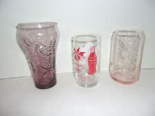Lot 1998 Coke NAGANO OLYMPICS GLASS, Proud Partners & Mcdonald's glass