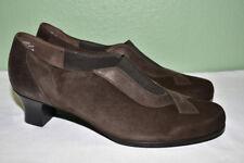 MUNRO American Suede Leather Low Heels Women's 10M EUC