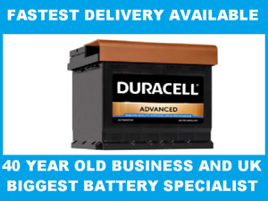 DA44 Duracell Advanced Car Battery 063 - fits many Suzuki Toyota Vauxhall VW