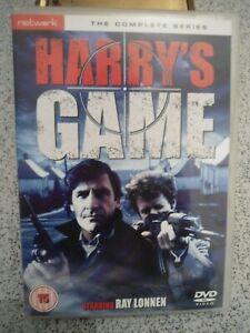 Harry's Game (DVDR2) 1982 Derek Thompson 150mins+Extras (BARGAIN)