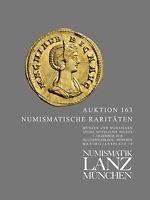 LANZ AUKTION 163 Katalog · 7. Dezember 2016 · Numismatische Raritäten ~