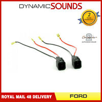 CT55-FD01 Car Speaker Adapter Harness Lead Loom Connectors for Ford