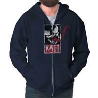 Edgy Tough Spider Hero Comic Book Tough Gym Zipper Sweat Shirt Zip Sweatshirt