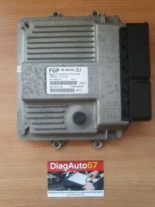 """Calculateur OPEL CORSA 1.3 JTD 55196352 MJD6JO.CA HW01D """"ANTIDÉMARRAGE OFF"""""""
