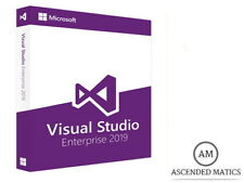 MICROSOFT VISUAL STUDIO 2019 ENTERPRISE LICENZA COMPLETA - 32/64 BIT PRODUCT KEY