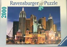 Ravensburger Jigsaw Puzzle 2000 Piece Las Vegas Nevada New York Hotel Casino