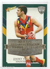 2012 Future Force (AA4) Jimmy TOUMPAS All Australian Melbourne