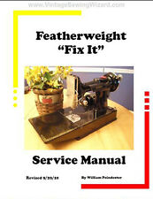 Singer Featherweight 221 Service Manual CD