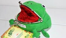 Frog Wallet Anime Cartoon Wallet Coin Purse Manga Flannel Cosplay Wallet 2015