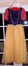 DISNEY STORE Princess SNOW WHITE Fancy Dress Women COSTUME ADULT L