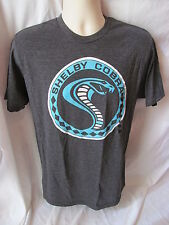 Shelby Cobra Snake in Circle Gray T Shirt Size Medium