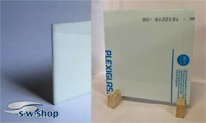 PLEXIGLAS ® Acrylglas weiß 2,3,4mm Zuschnitt Trennwand, Sichtschutz, Spuckschutz