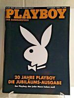 1992 September 20th ANNIVERSARY PLAYBOY Magazine GERMAN EMBOSSED COVER