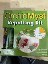 Orchid Myst Repotting Kit - Orchid Pot, Bark and Spray