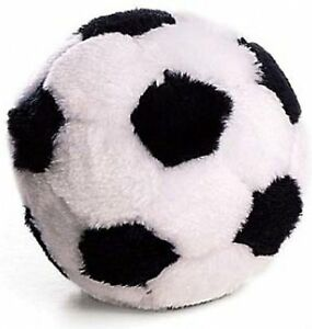 `Spot Ethical  Plush Soccer Ball Dog Toy, 4.5-inchr