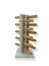 "Zipfizz Holder Display that holds 20 tubes USA MADE 11"" Tall with 5"" Base"