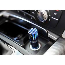 Blue Auto Car Home Fresh Air Purifier Anion Lonic Oxygen Bar Ozone Ionizer
