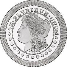 Morgan Dollar Stackables 1oz .999 Silver Medallion