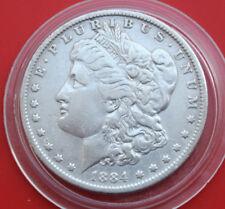 USA-Amerika: 1 Morgan Dollar 1884-O Silver, KM# 110, SS-VF, #F1817