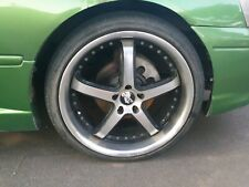 King rims 20 inch ford offset rear