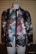 Puma Women's Urban Mobility Print Windbreaker Jacket - Size Medium MSRP 120.00