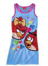 ROBE CHEMISE DE NUIT ETE ANGRY BIRDS 5-6 ans ( jeu mobile iphone )