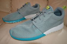 New Nike Mens Roshe Rosherun Run Running Shoes 511881-300 sz 9 MC Green / Grey