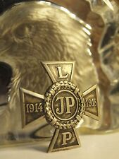 WW1 Polish Legions CROSS JP 1914 1918 / SCREW BACK - AUSSIE STOCK !