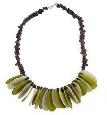 Collar De Semilla De Tagua colombiano Orgánica/Natural/Hippie Bohemio/María Kiwi/Marfil