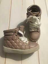 Michael Kors | Girls Trainers | Rose Gold | Size 8.5 | Used