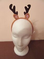 Reindeer Antlers Christmas headbands ideal for Children or Adutls Fancy dress