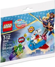 New LEGO 30546 DC Super Hero Girls Krypto Saves the Day Polybag - 55 Pieces!