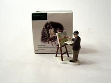 Department 56 New England Village Christmas in the City An Artist'S Touch #56638