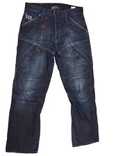 G-Star Raw 'SCUBA ELWOOD LOOSE' Dark Aged Jeans W30 L29 NEW RRP $299 Mens