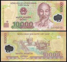 Vietnam 10000 DONG 2010 Polymer P 119 UNC