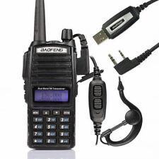 Baofeng UV-82L + USB Cavo 136-174/400-520MHz Walkie Talkie FM RICETRASMITTENTE