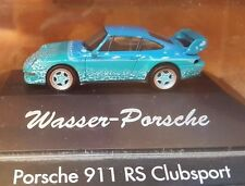 HERPA eau-porsche 911 rs Clubsport --- Limited Edition-Aérographe Design -- top