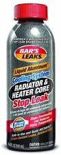 Bar's Liquid Aluminum Radiator Stop Leaks on radiator leaks, plugs, gasket, core