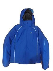 Kjus Youth Formula Ski Jacket Size 176 (size Youth XL) Blue & light blue